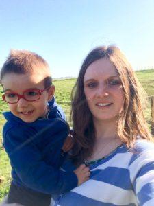 Elias et sa maman