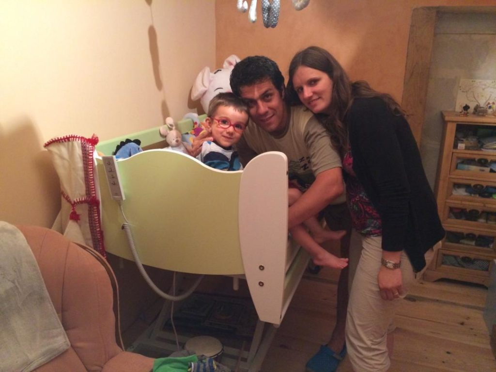 Elias et ses parents