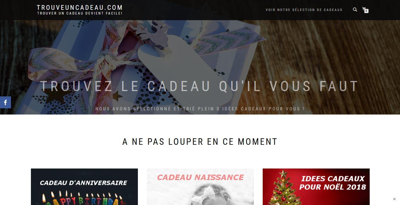 TrouveUnCadeau.com - Choisir le bon cadeau deviens simple et rapide !